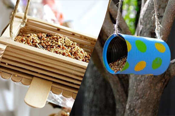 Kids Make & Take Bird Feeder