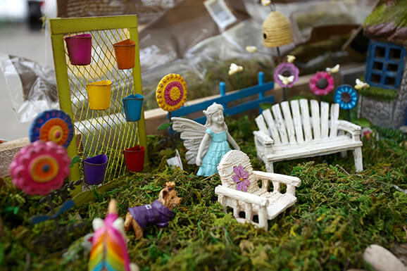Kids Make & Take Fairy Gardens