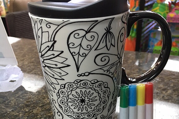 Wine and Coloring