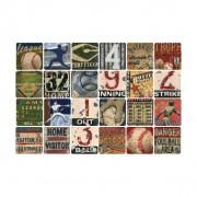 Baseball  Art Coasters