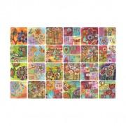 Choose Happy  Art Coasters