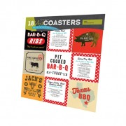 BBQ  Art Coasters