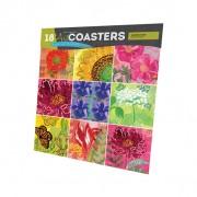 Garden Hues  Art Coasters