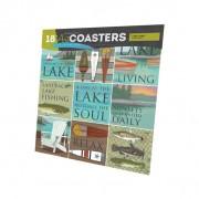 Lake Living  Art Coasters