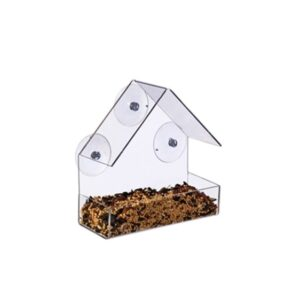 Acrylic Cottage Birdfeeder