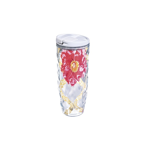 Acrylic Cypress Textured Hot Tumbler