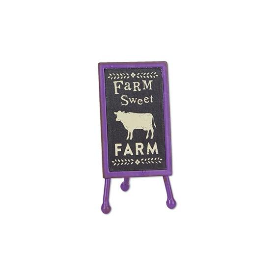 Gypsy Garden Mini Farm Sweet Farm Sign