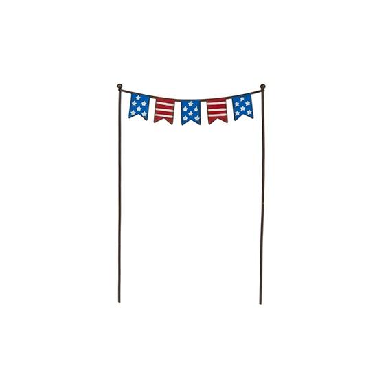 Gypsy Garden Mini Patriotic Flags