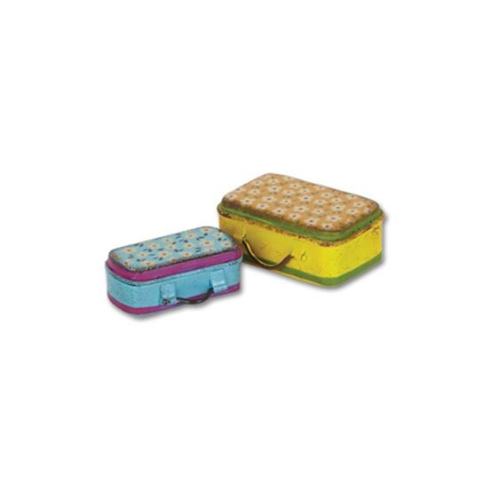 Gypsy Garden Mini Suitcases