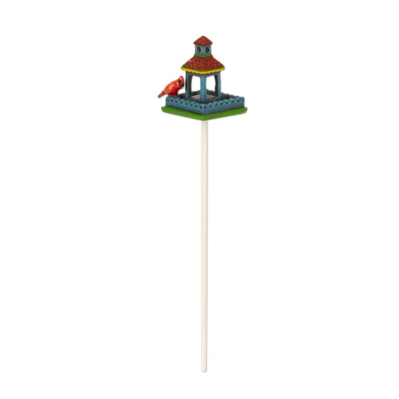 Merriment Mini Birdfeeder with Cardinal