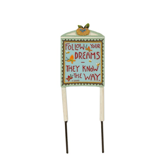 Merriment Mini Follow Your Dreams Sign