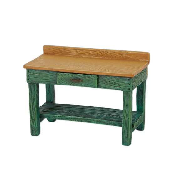 Merriment Mini Green Potting Bench