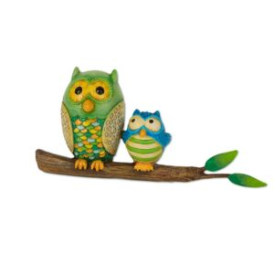 Merriment Mini Owls on Branch
