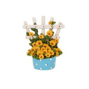Merriment Mini Polka Dot Potted Trellis