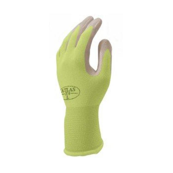 Green  Nitrile Touch Work Glove