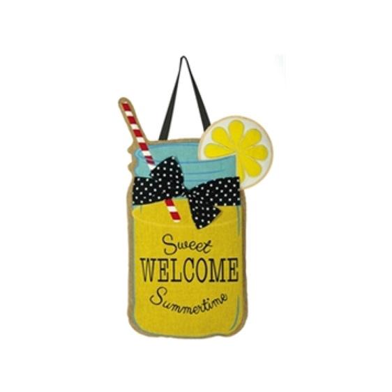 Burlap Sweet Summertime Door Hanger