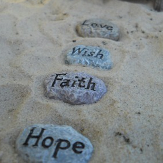 WFG Fairy Sayings Stepping Stones