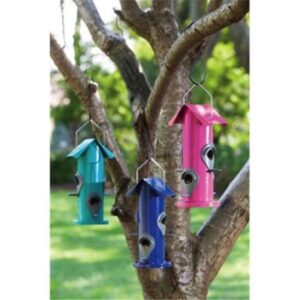 Aqua  Bloom Tube Bird Feeder