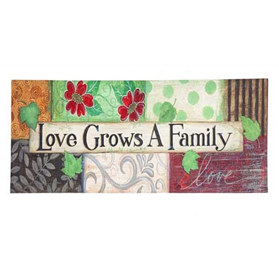 Love Grows a Family Sassafras Insert