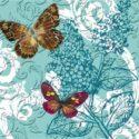 Pretty Pattern Butterfly Embossed Mat