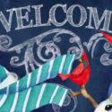 Snomwan Welcome Sassafras Insert Mat