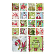 Christmas Wishes  Art Coasters