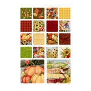 Signs of Fall  Art Coasters