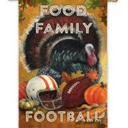 Food Family Football Flag