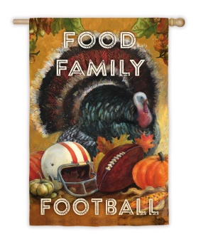 Food Family Football Flag