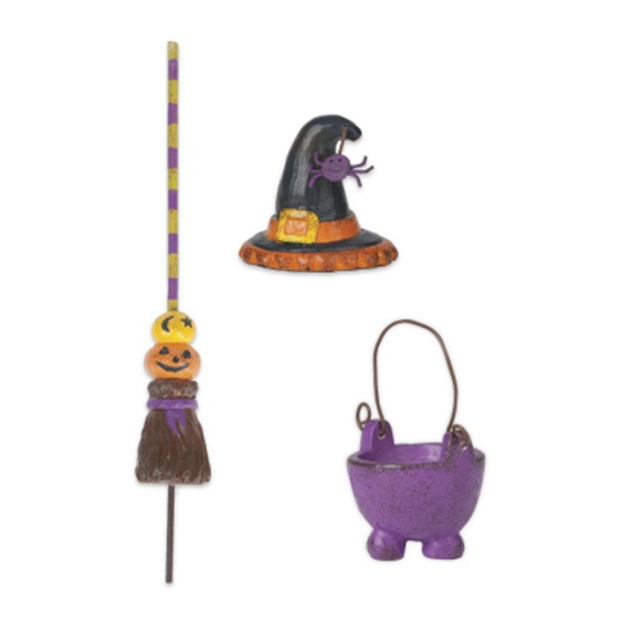 Gypsy Garden Mini Witch Accessories