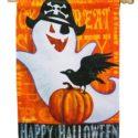 Halloween Night House Flag 2