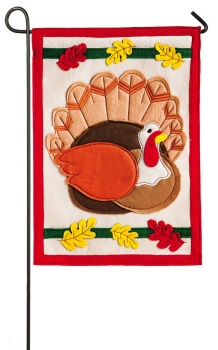 Holiday Turkey Garden Flag