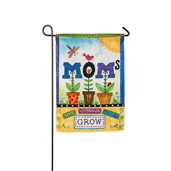 Suede Mom's Bloom Garden Flag