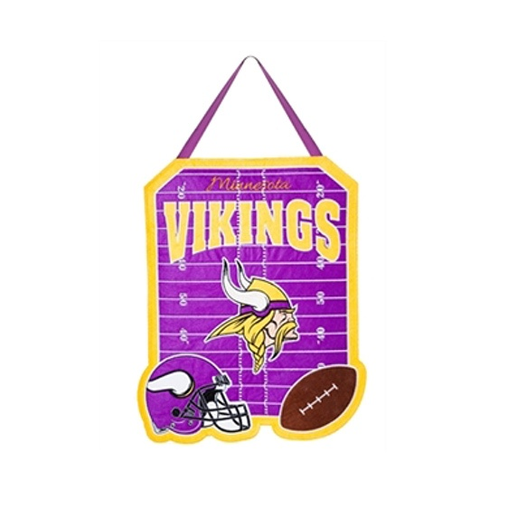 NFL Minnesota Vikings Door Decor
