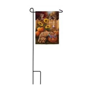 Suede The Great Candy Heist Mini Garden Flag