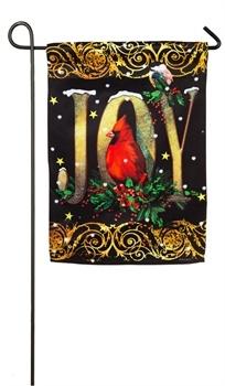 Holiday Joy Garden Flag
