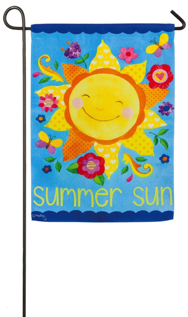 Welcome Friend Garden Flag