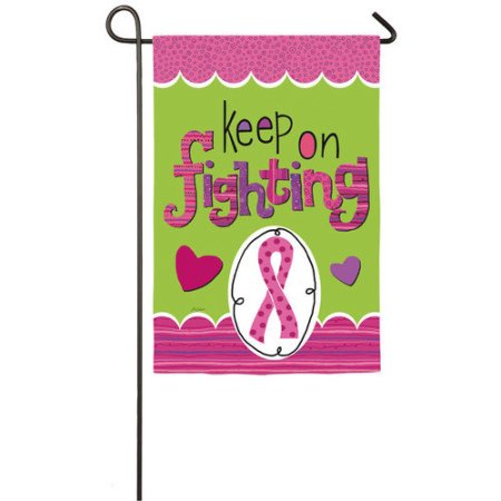 Keep Fighting Garden Flag