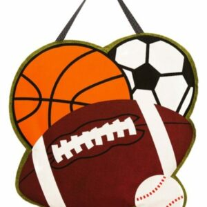 Sports Door Decor