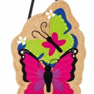 Summer Butterflies Mailbox Cover
