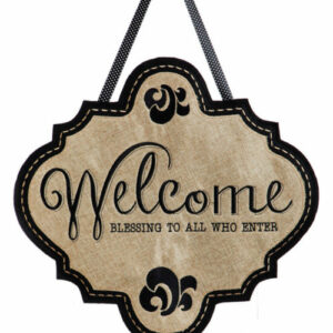 Welcome Door Decor