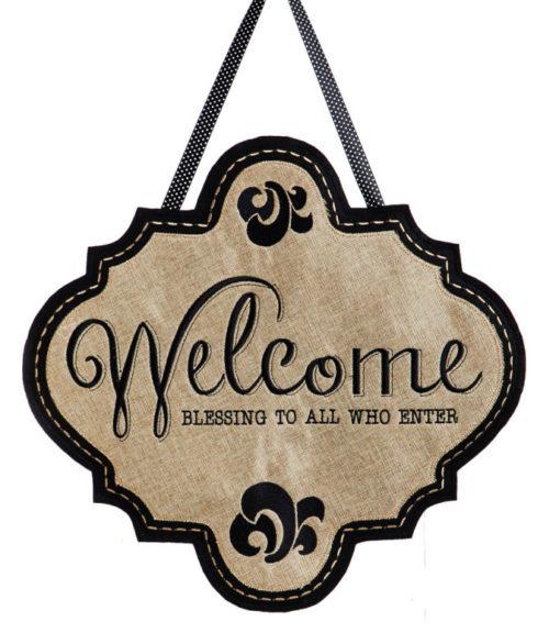 Welcome Door Decor