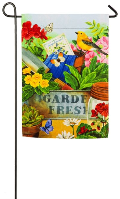 Gardeners Table Garden Flag
