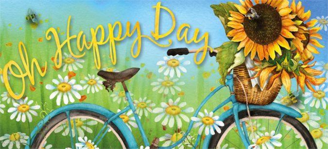 Happy Day Sassafras Inset Mat