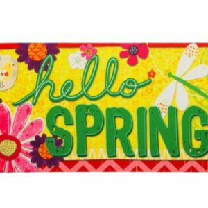 Hello Spring Sassafras Insert Mat