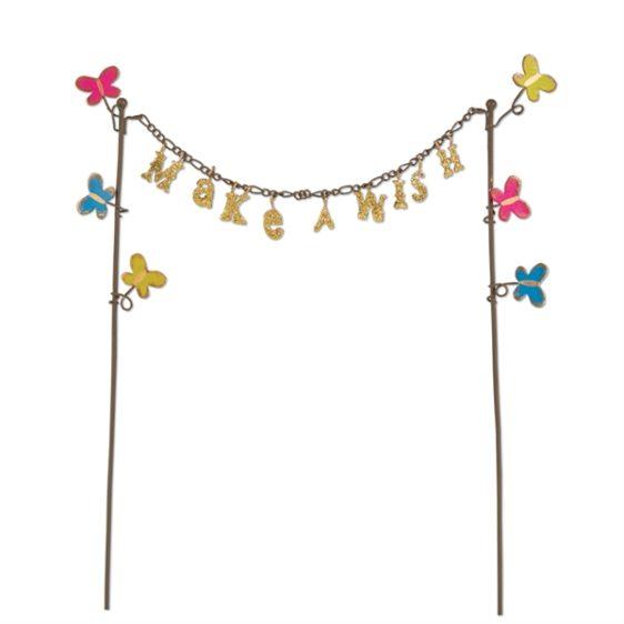 Gypsy Garden Make A Wish Banner