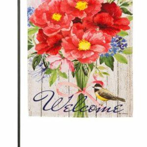Peonies Bouquet Garden Flag