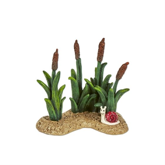 Merriment Cattails and Snail