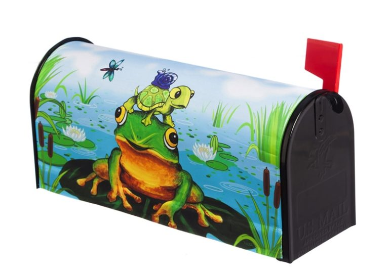 Frog Pile Mailbox Cover