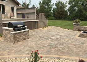 huge landscaping transformation